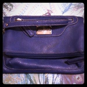 Navy Blue Wristlet from Unlisted by Kenneth Cole